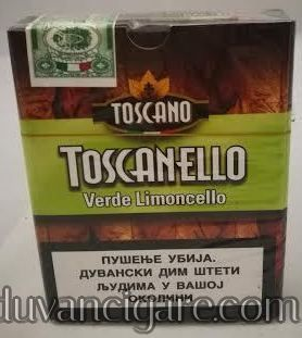 Cigarilosi Toscanelo ukus limuna