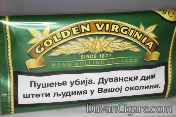 Golden virginia duvan za motanje bez arome 25 gr.