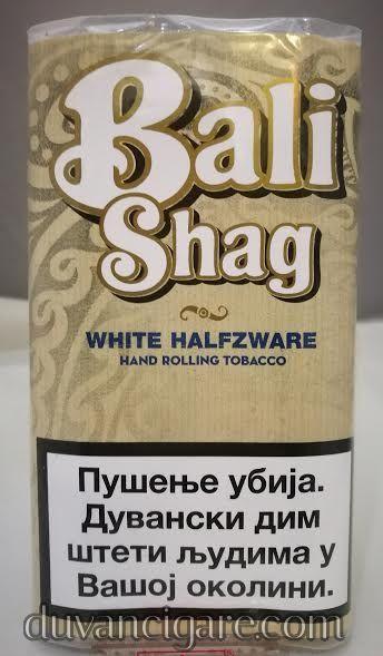 Duvan za motanje Bali Shag white halfzware