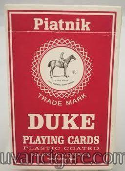 Piatnik karte crveni spil