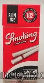 Filtercici za motanje Smoking slim u tubicama