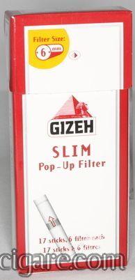Gizeh slim filtercic za motanje dzepno pakovanje od 102 komada (precnik 6mm)