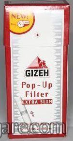 Gizeh extra slim filtercici dzepno pakovanje od 126 komada (precnik 5,2 mm)