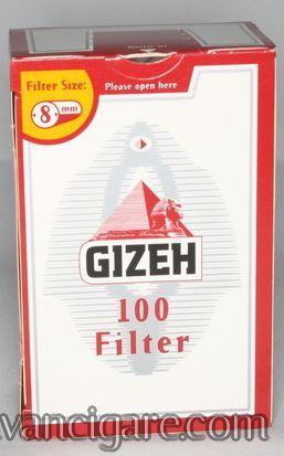Gizeh regular filtercic za motanje kartonsko pakovanje od 100 komada (precnik 8mm)