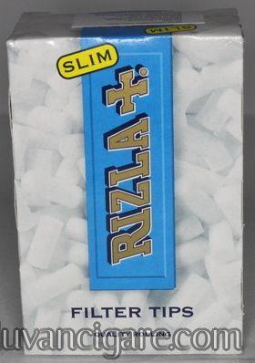 Rizla + slim filtercic za motanje kartonsko pakovanje od 150 komada (precnik 6 mm)