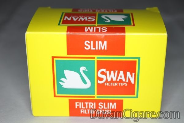 Swan slim filtercic za motanje kartonsko pakovanje od165 komada (precnik 6mm)