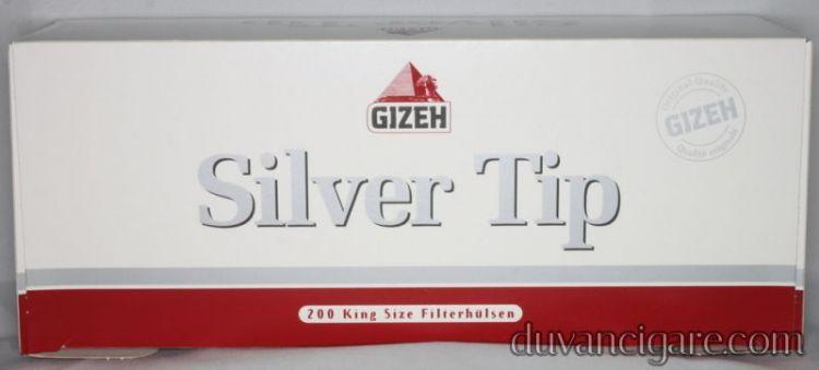Tubos Gizeh Silver Tip