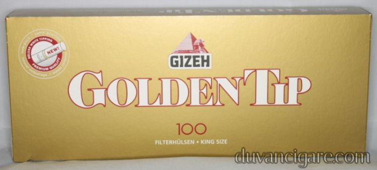 Tubos Gizeh Golden Tip