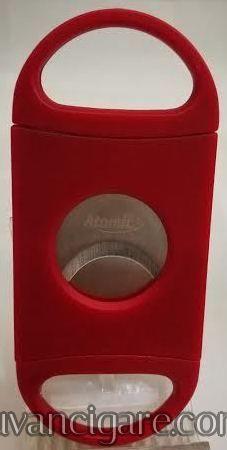 Sekac  za cigare plasticni crveni