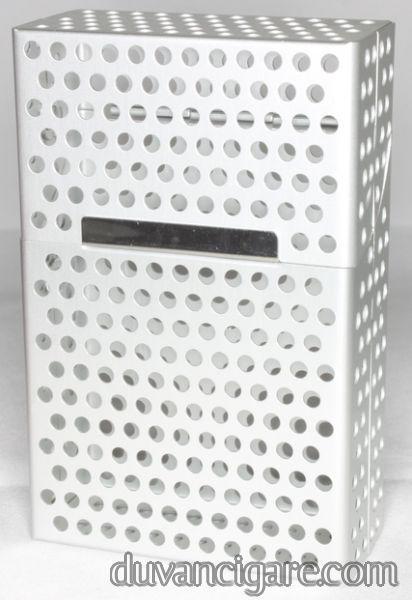 Tabakera za  kutiju cigareta srebrna
