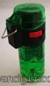 Brener upaljac valjak zeleni providni