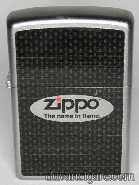 Upaljač Zippo crni logo