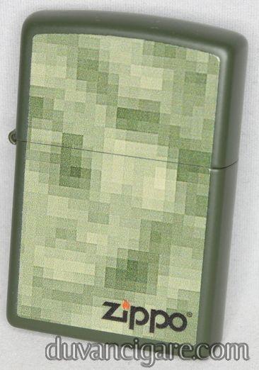 Upaljač Zippo maslinati karo