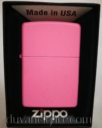 Zippo upaljac roze siroki