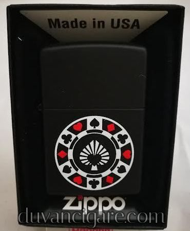 Zippo upaljac rulet crni