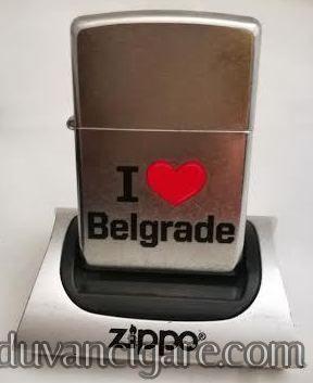 Zippo upaljac volim Beograd