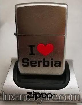 Zippo upaljac volim Srbiju