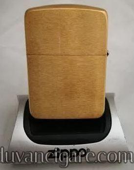 Zippo upaljac zaobljena replika zlatna