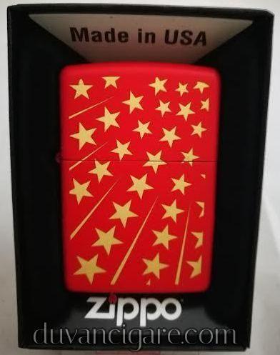 Zippo upaljac zvezdice crveni